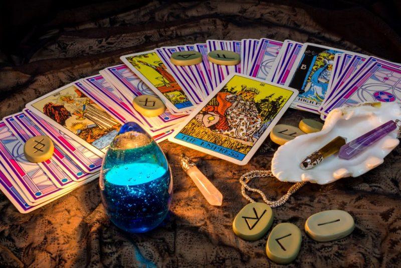 Как выглядит колода гадания карт Таро?